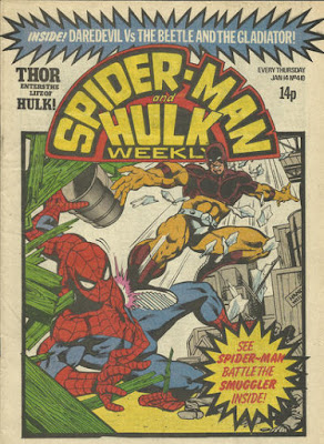 Spider-Man and Hulk Weekly #410, the Smuggler