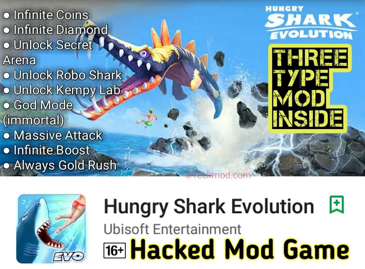 Download cheat hungry shark evo mod apk | Hungry Shark