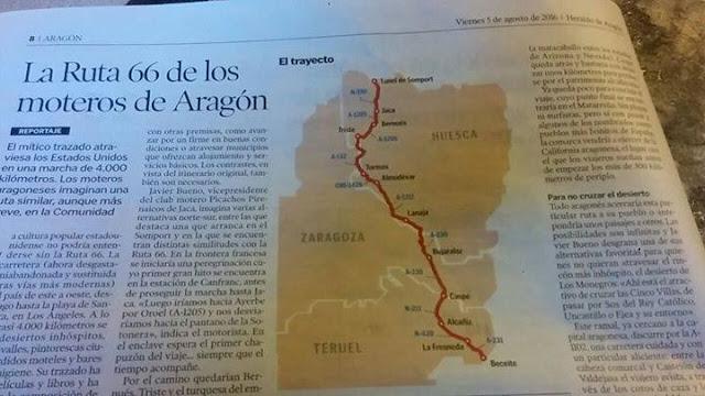 Ruta 66. moteros. Aragón, Route 66, motos, motocicletas, motoristas,