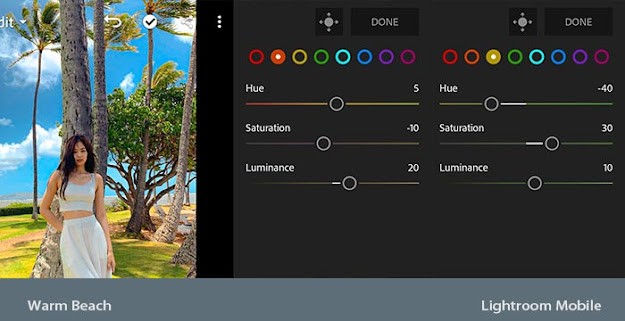MIX - Cara Edit Foto di Lightroom Android