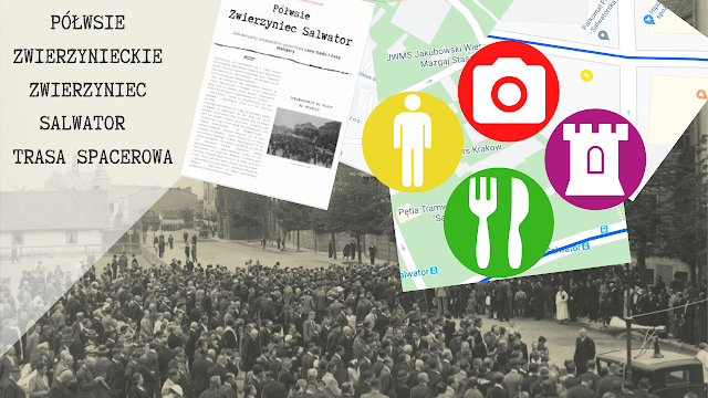 Półwsie Zwierzynieckie, Zwierzyniec, Salwator -  trasa spacerowa z Google maps + Przewodnik