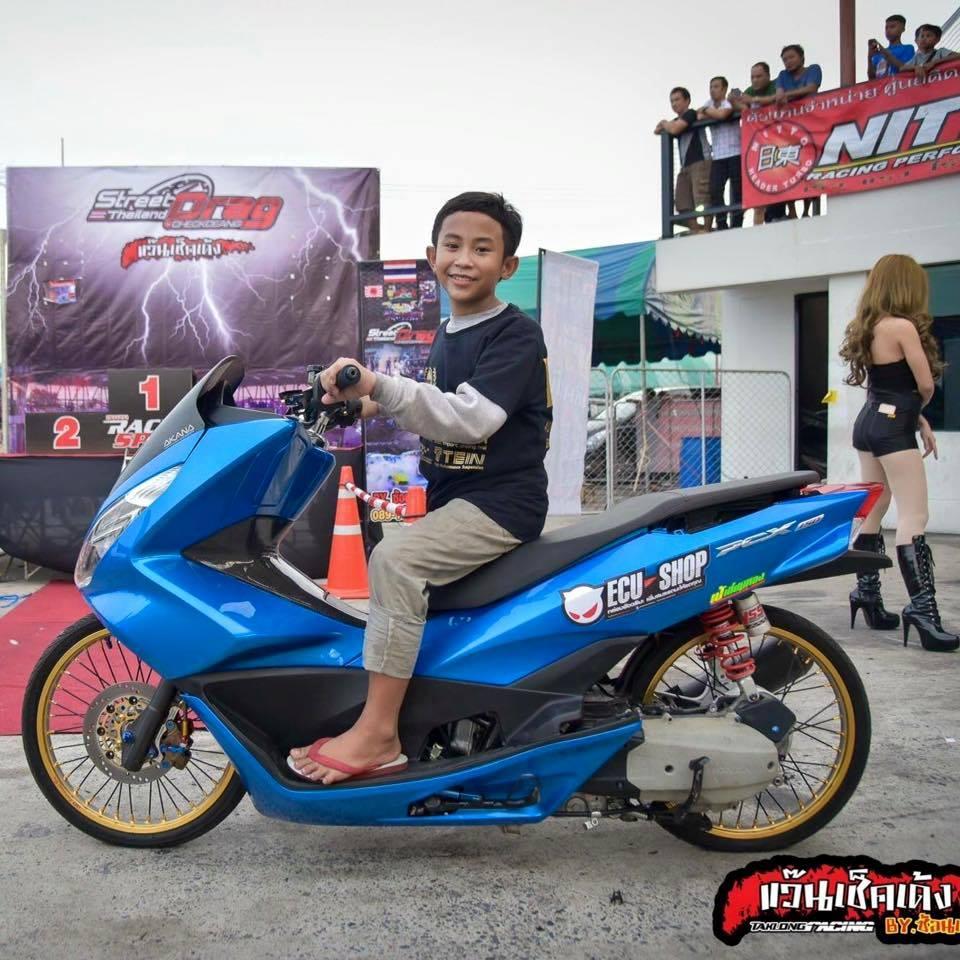 MODIFIKASI MOTOR THAILAND THAILOOK Modifikasi Thailand Look Style