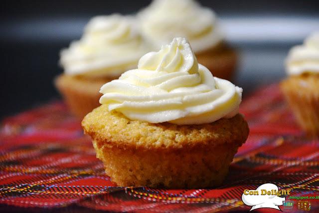 קאפקייק תפוז וניל Orange vanilla cupcake