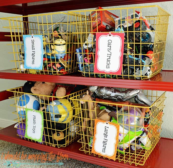 Kids' Organization Labels