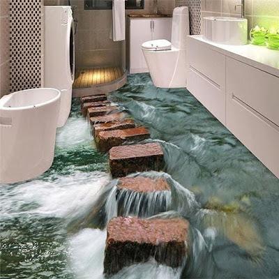 inspirasi kamar mandi kecil minimalis
