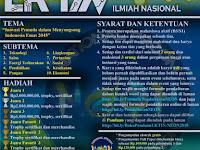 Lomba Karya Tulis Ilmiah Nasional NEON 2018 di Universitas Bengkulu