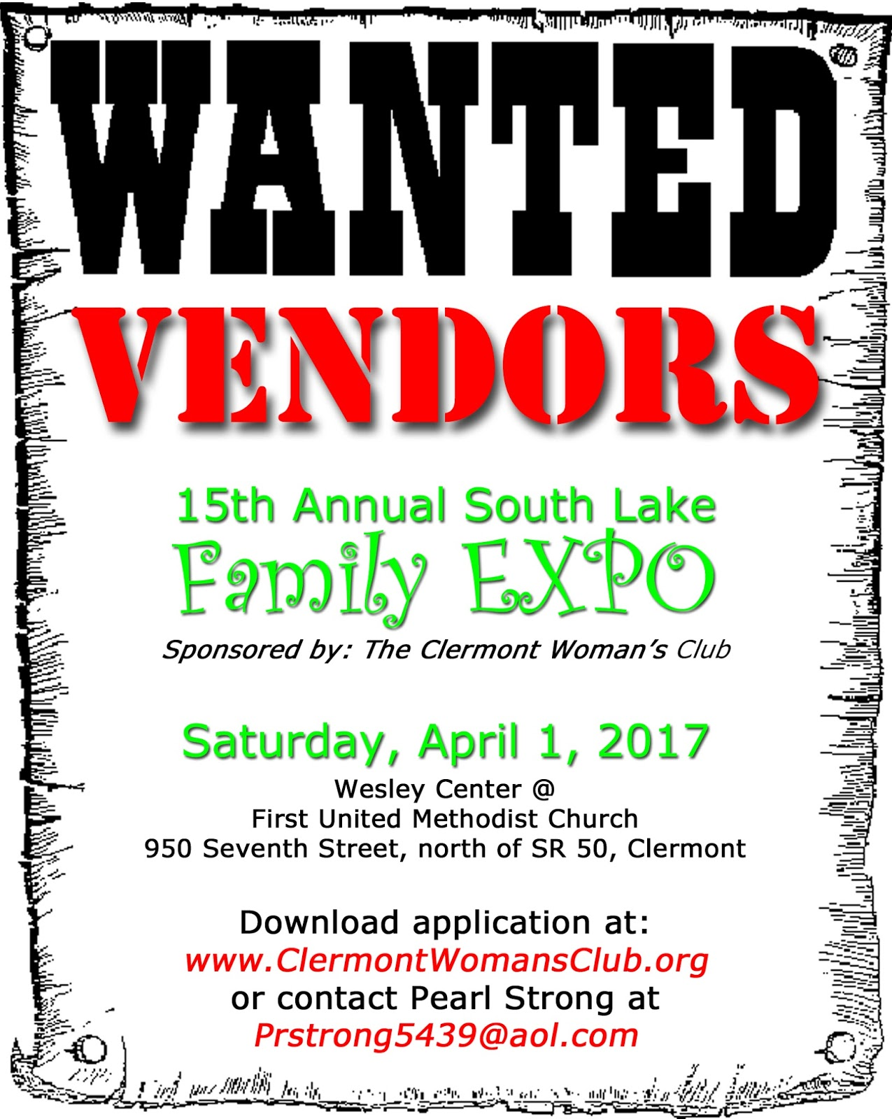 clermont woman u0026 39 s club  inc   15th annual sl family expo