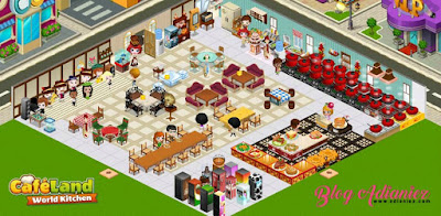 CafeLand | Bila ibu mula main game online