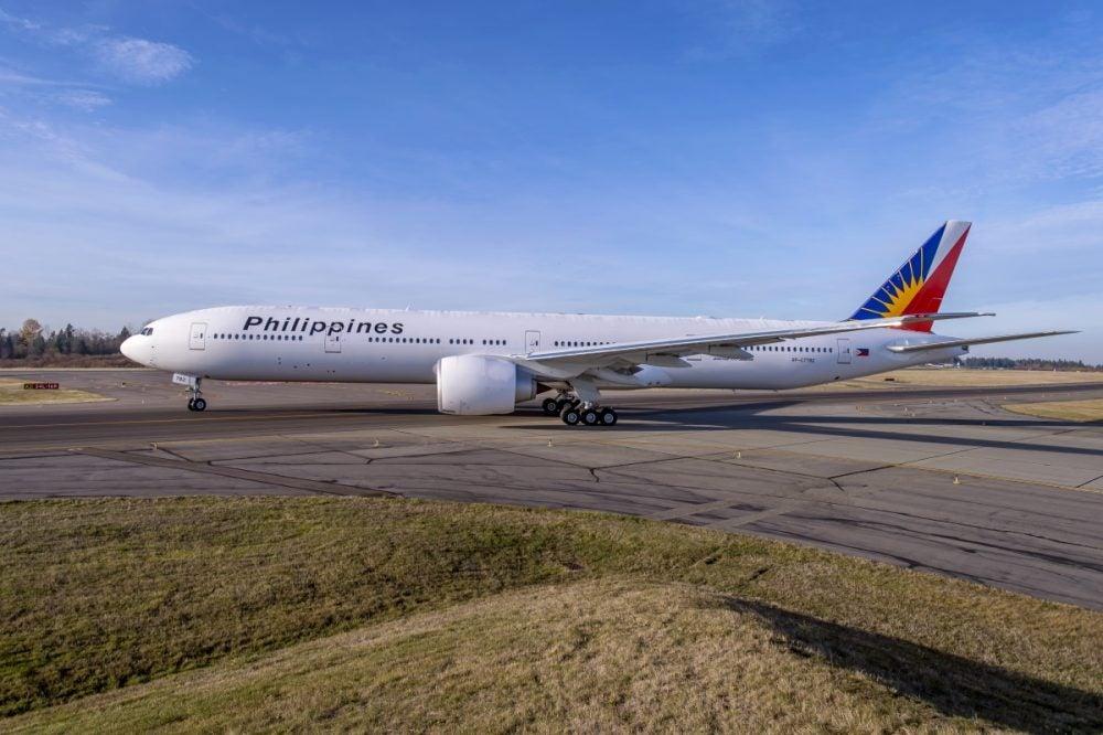 PAL Boeing 777-300ER file photo
