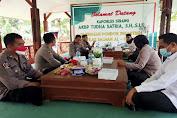 Pererat Silaturahmi, Kapolres Serang Kunjungi Ponpes Ikhlas Salman Al Farisiy Jawilan
