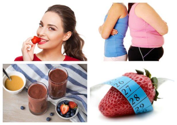 Strawberry diet, slimming plan to lose 12 days in 5 kilos