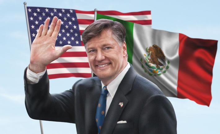 Embajador de Estados Unidos de América en México, Christopher Landau. (Foto: Cortesía)