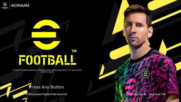eFootball Graphic Menu (Dark Version) For PES 2017