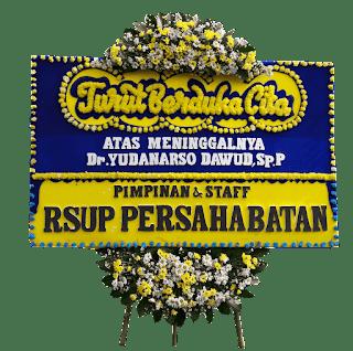 papan bunga duka cita jakarta