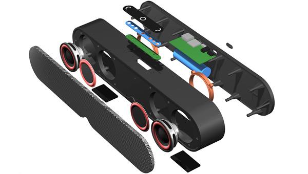 CBAOOO portable Bluetooth speaker