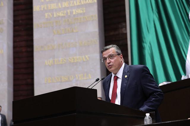 diputado Luis Javier Alegre Salazar (Morena)