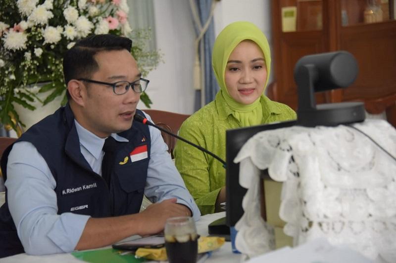 Ridwan Kamil Titip Pesan di Silaturahmi Online Bani Muhyiddin Pagelaran