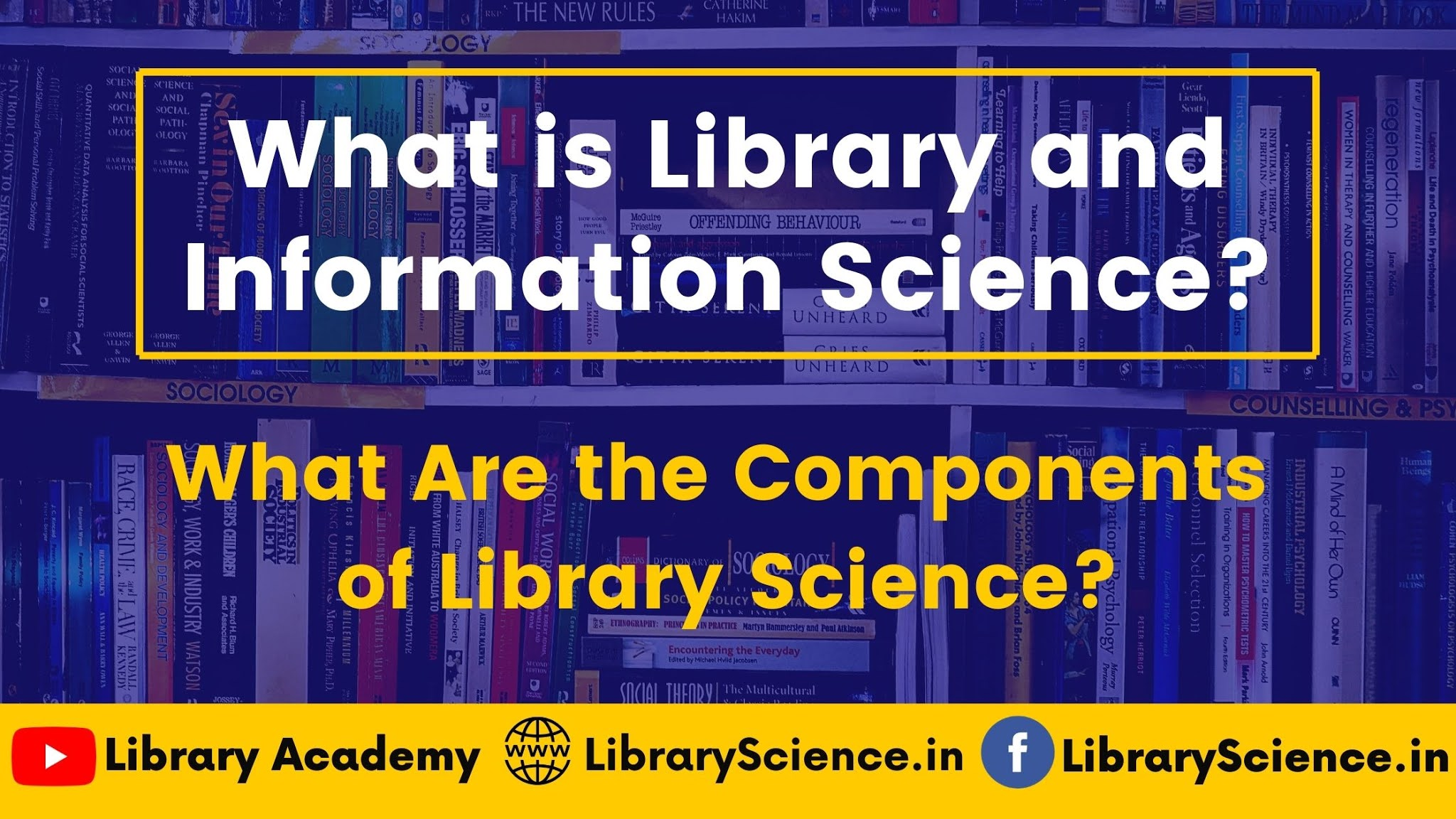 What is Library and Information Science