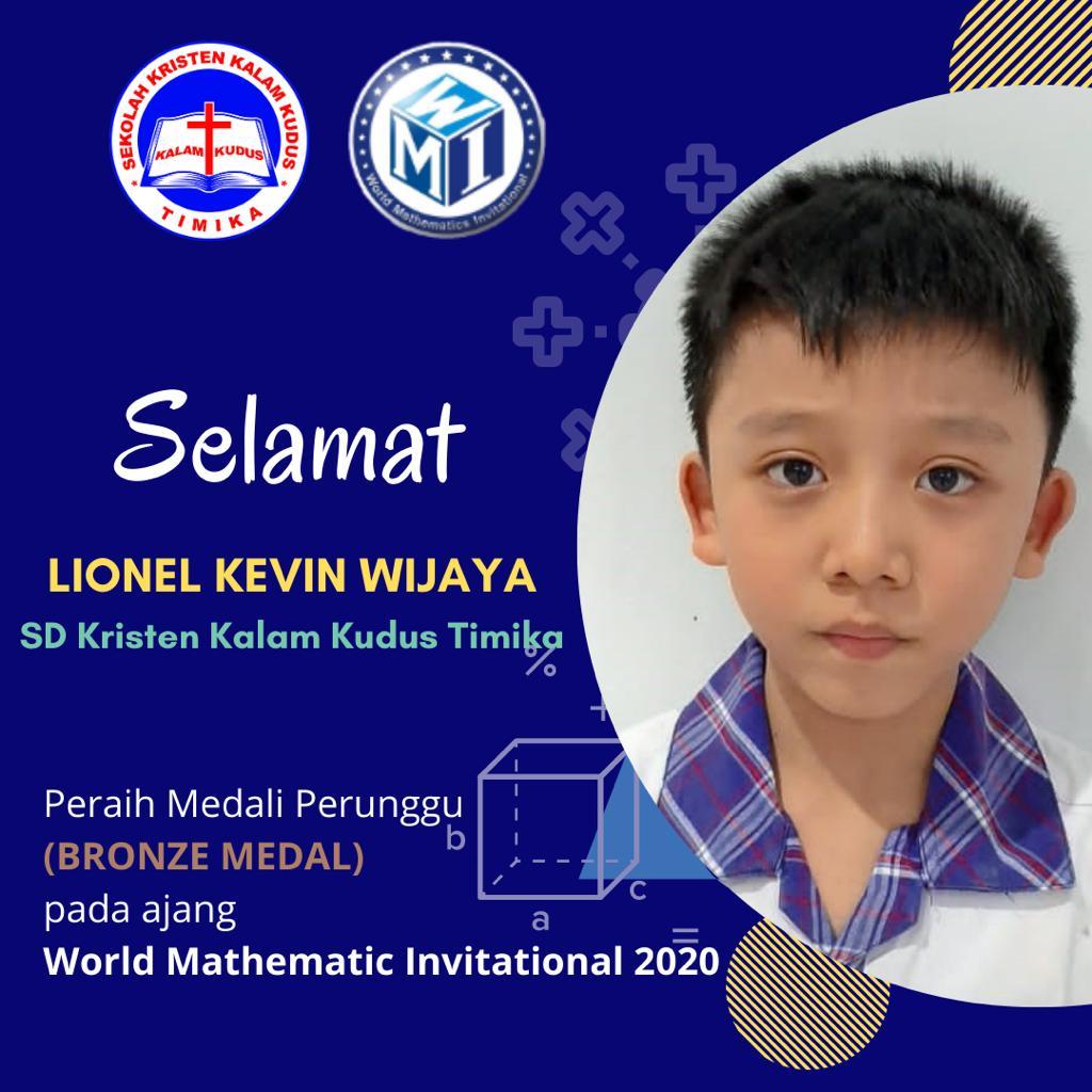 Prestasi Siswa di ajang WMI 2020