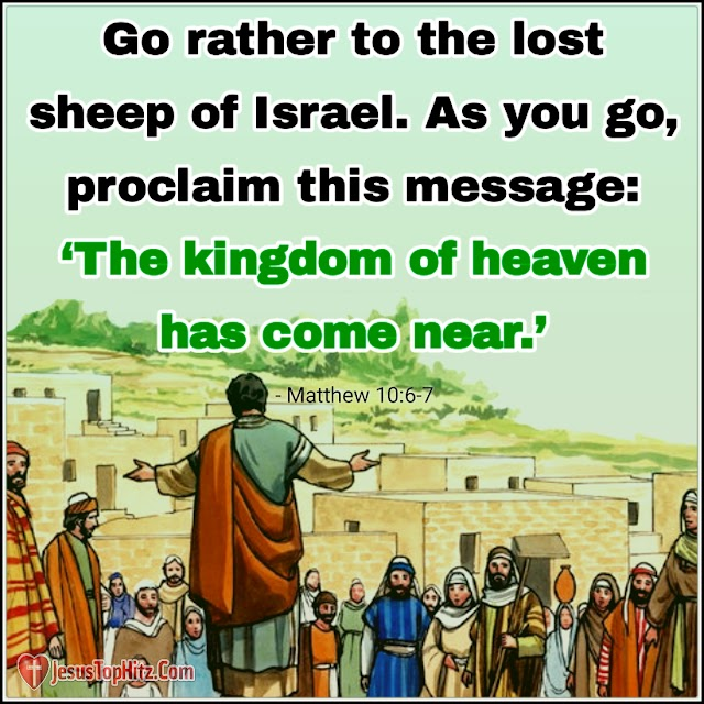 Today Bible Verse | 05-12-20 | Matthew 9:35-10:1,5-8