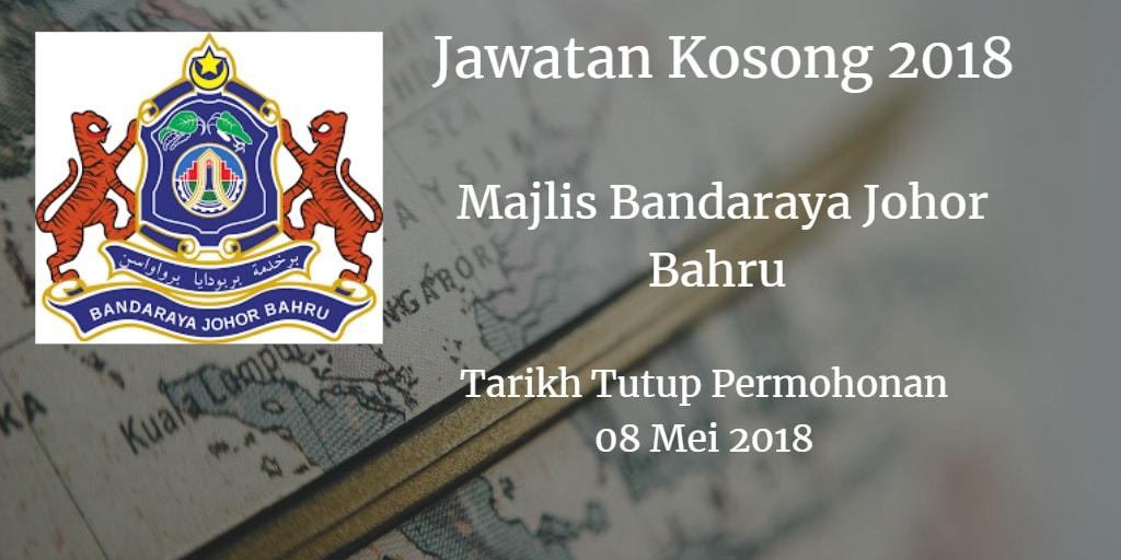 Jawatan Kosong MBJB 08 Mei 2018
