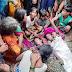 राघोपुर में बाढ़ के पानी में डूबने से मां-बेटी की मौत ।