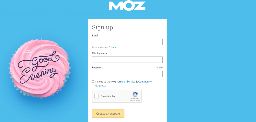 Moz-Account-Signup