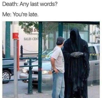 depression grim reaper meme