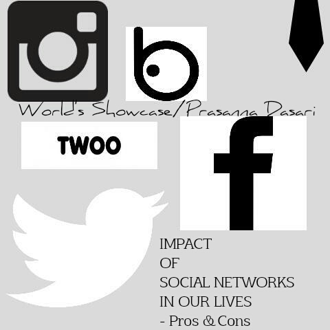 Social networks worl's showcase