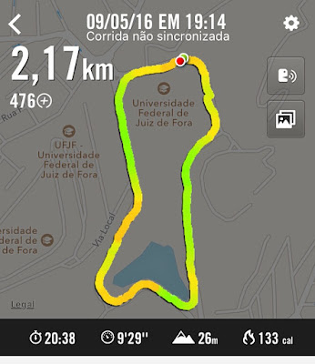 Novidade: voltei a correr   :) 2