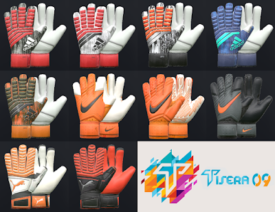 PES 2018 / PES 2017 AIO Glovepack by Tisera09
