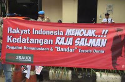 Alasan Aliansi Anti Perang Tolak Kunjungan Raja Salman ke Indonesia
