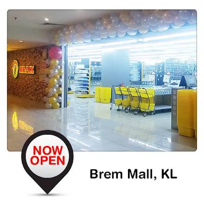 MR.D.I.Y Outlet Brem Mall KL