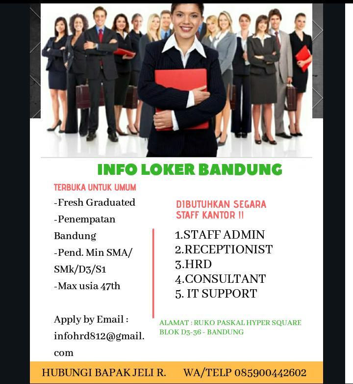 Lowongan Kerja PT. Kontak Perkasa Bandung Januari 2020