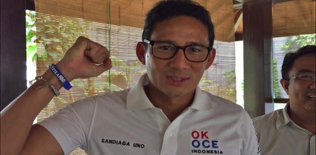 Bantah Setor Nama Menteri Ke Jokowi, Sandiaga: Gerindra Tidak Bertarung Untuk Jabatan