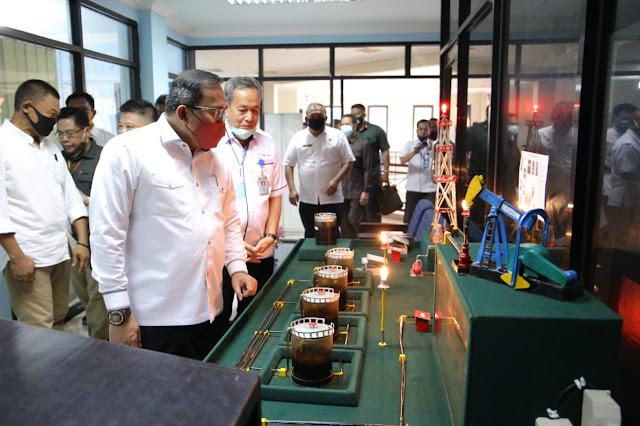 Bupati Muba DRA Minta Pengelolaan PT Petro Muba lebih Profesional