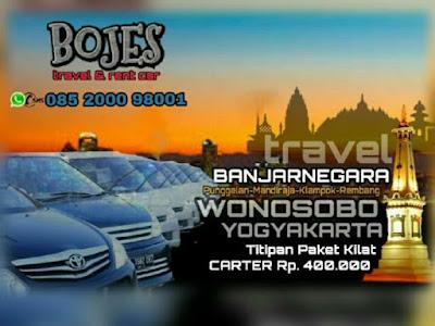 travel wonosobo jogja