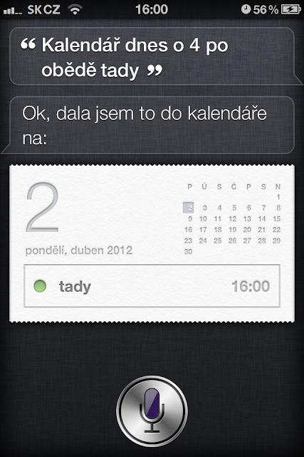 chytrasiri - Siri v češtině