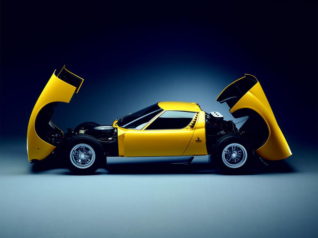 Dream Fantasy Cars Lamborghini Miura