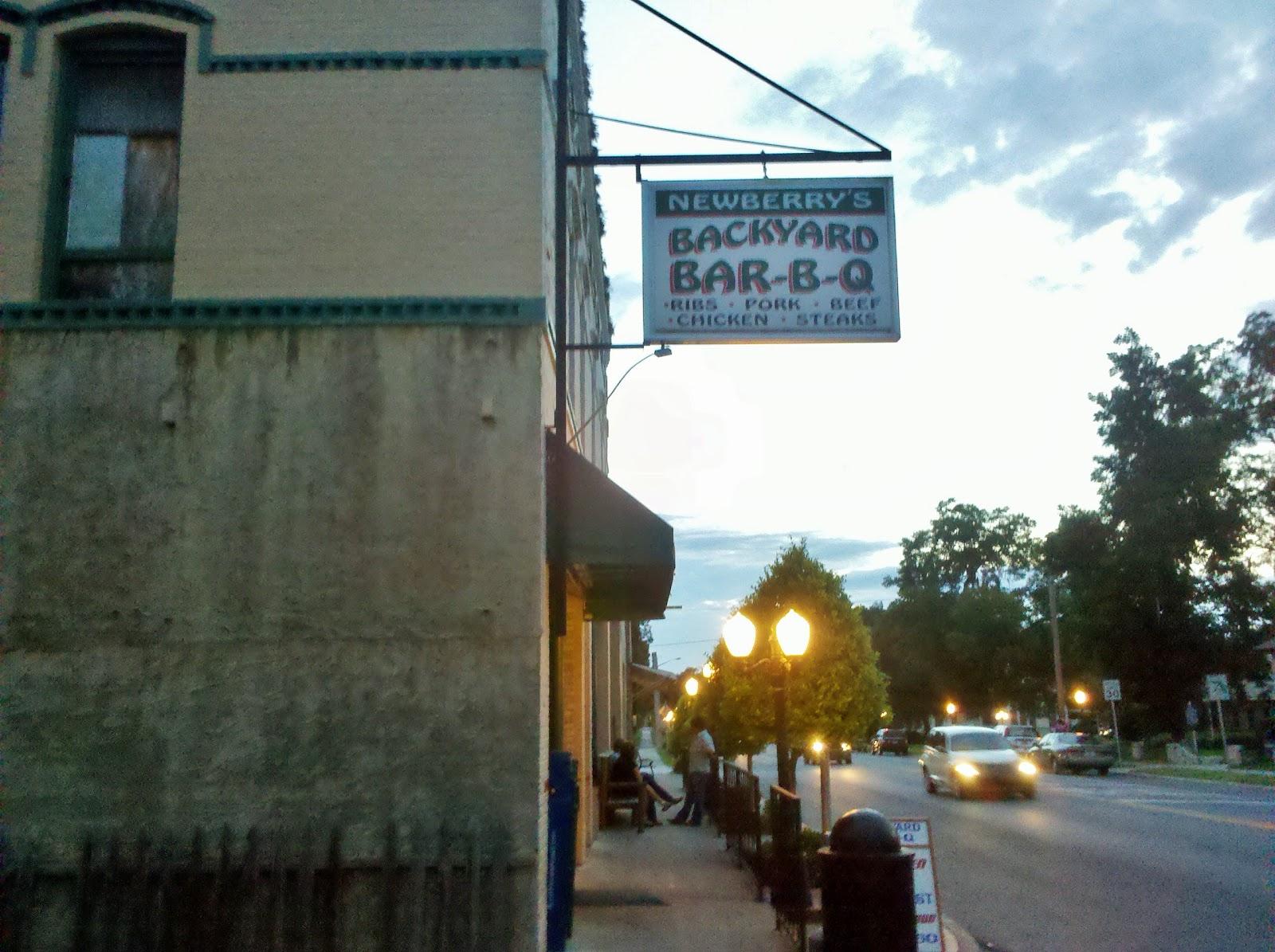 Smoked Pig and Sweet Tea: Newberry's Backyard BBQ- Newberry,FL