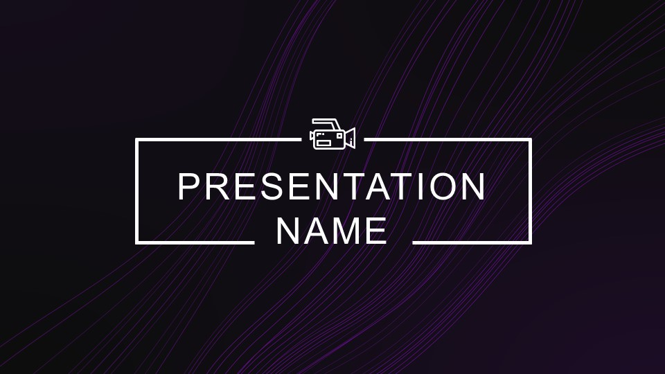 ppt introduction with abstract background