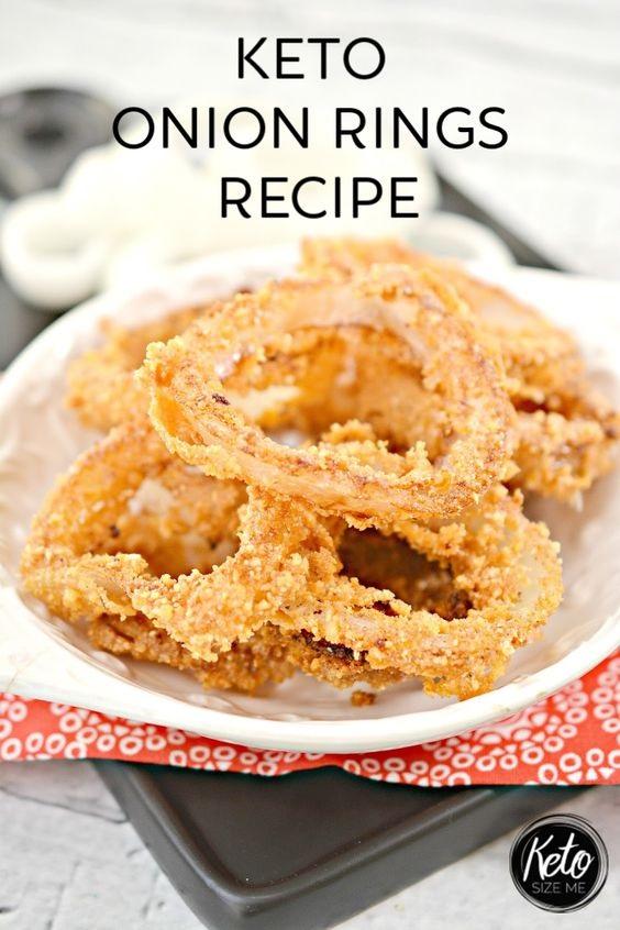 Keto Onion Rings Recipe Easy Keto Side Dish