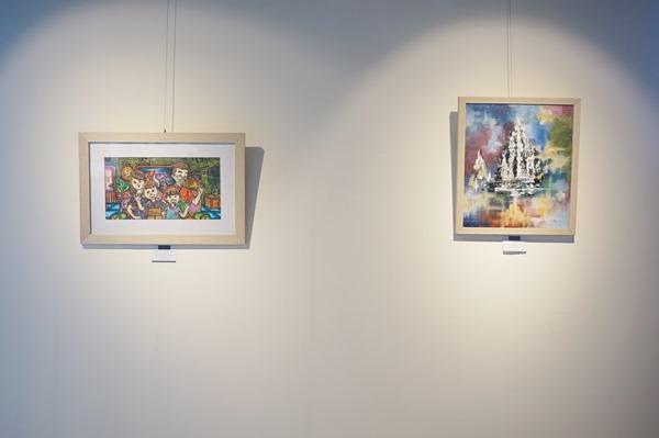 karya lukis seniman muda jawa timur, art galleri, lukisan