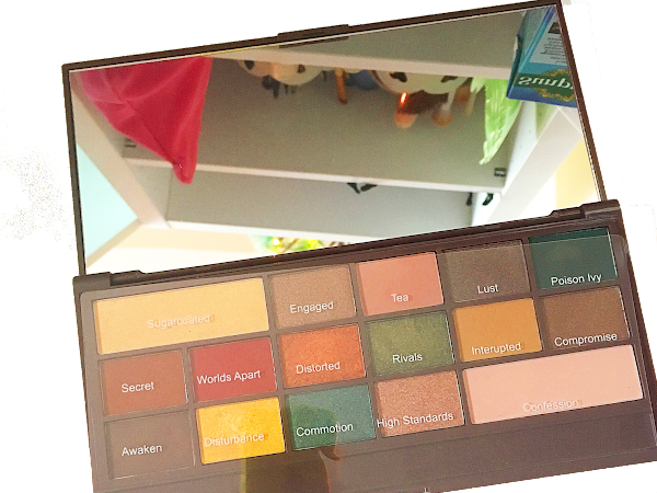 I HEART Makeup MINT CHOCOLATE Palette Review, Photos and Swatches
