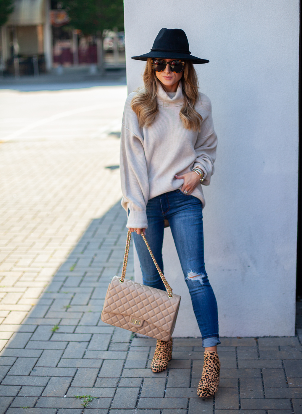 nordstrom free people ivory softly structured knit tunic