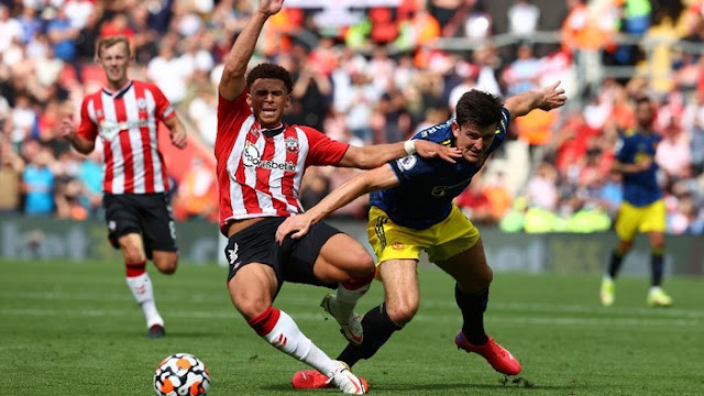 Kecolongan Duluan, MU Ditahan Imbang 1-1 Oleh Southampton