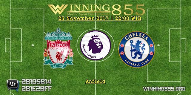 Prediksi Akurat Liverpool vs Chelsea 26 November 2017