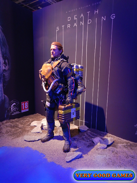 Photo report from the gaming event EGX 2019 in London - the game Death Stranding for PlayStation 4