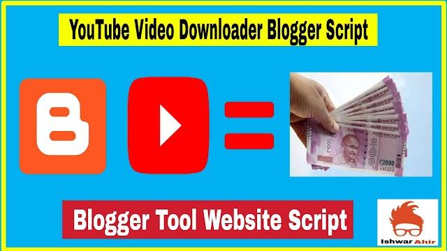 YouTube Video Downloader Blogger Script