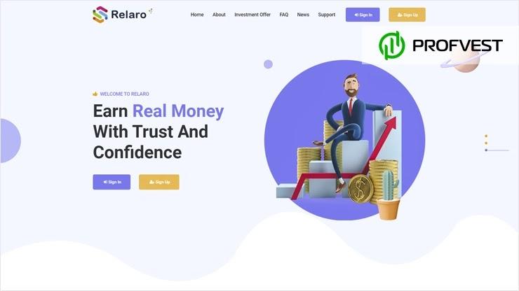Relaro обзор и отзывы HYIP-проекта